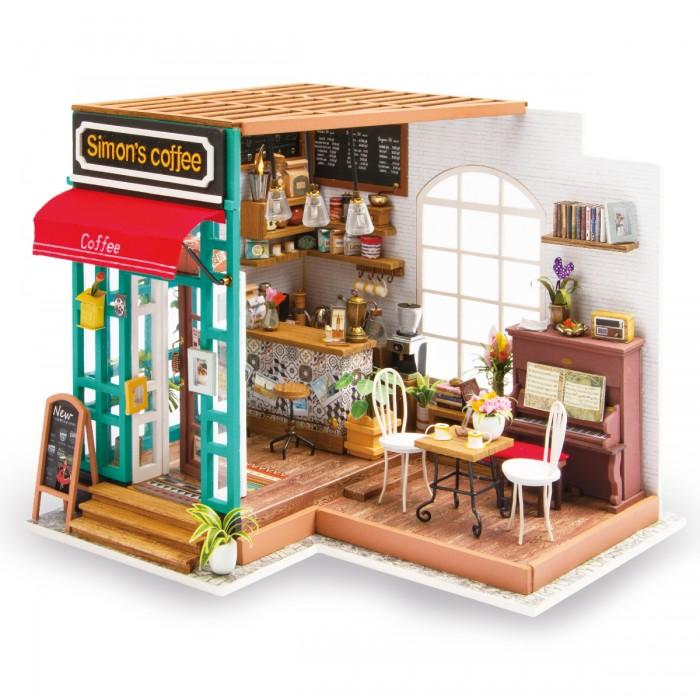 Конструктор Diy House Интерьерный для творчества Simons Caffee (Кафе)
