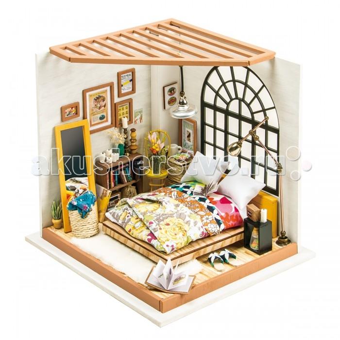 Сборные модели Diy House Интерьерный для творчества Alice Living Room (Жилая комната)