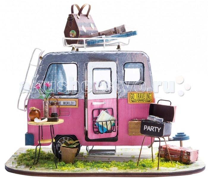 Конструктор Diy House Интерьерный для творчества Счастливый турист