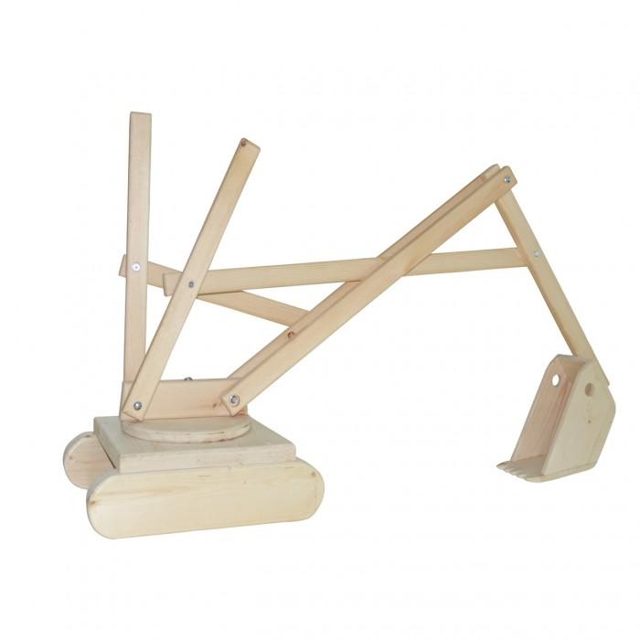 Фото - Сборные модели ДоММой Экскаватор деревянный пледы доммой трансформер детский овечка
