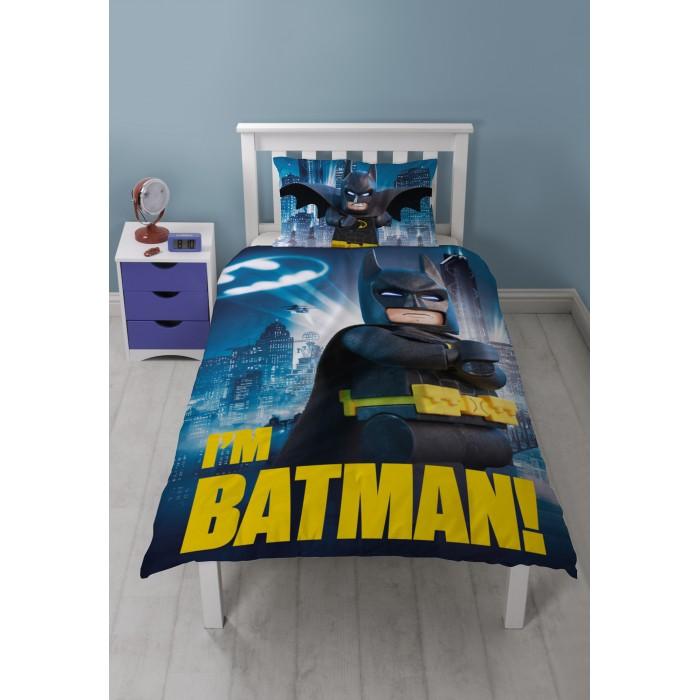 Постельное белье 1.5-спальное Lego Batman Movie