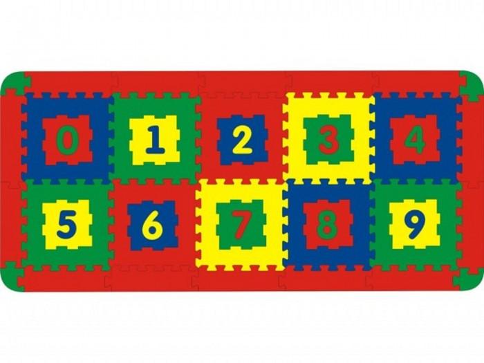 Игровые коврики Тедико Напольный 10 деталей коврик напольный vortex вологодский 20092