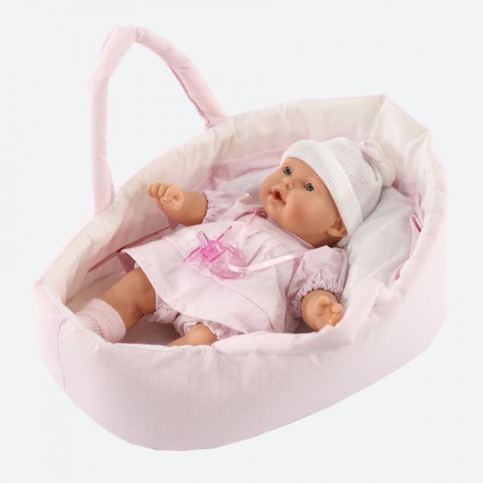 Купить Куклы и одежда для кукол, Munecas Antonio Juan Кукла Лана в корзине 27 см