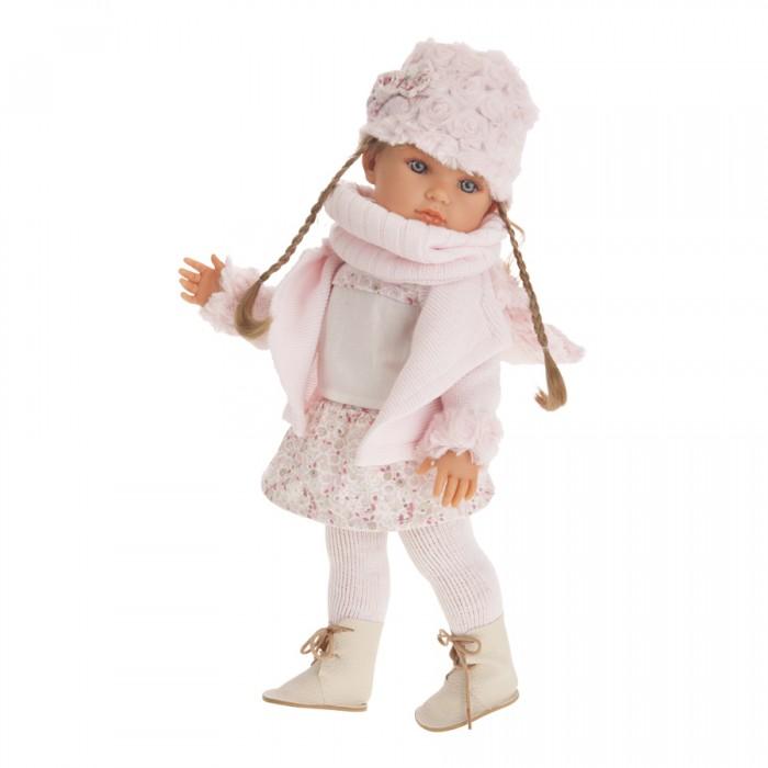 Munecas Antonio Juan  Кукла Белла с шарфиком 45 см