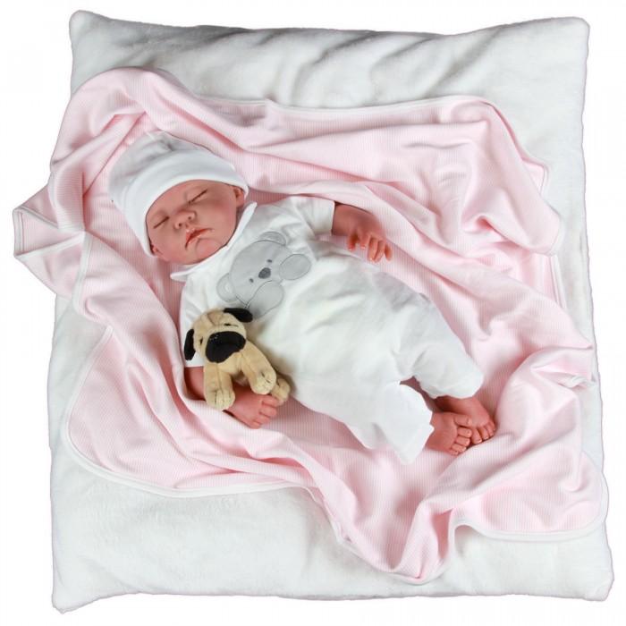 Munecas Antonio Juan  Реборн младенец Рамон спящий 40 см
