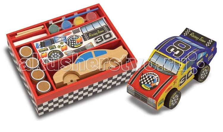деревянные игрушки melissa Деревянные игрушки Melissa & Doug Классические игрушки Гоночные машинки