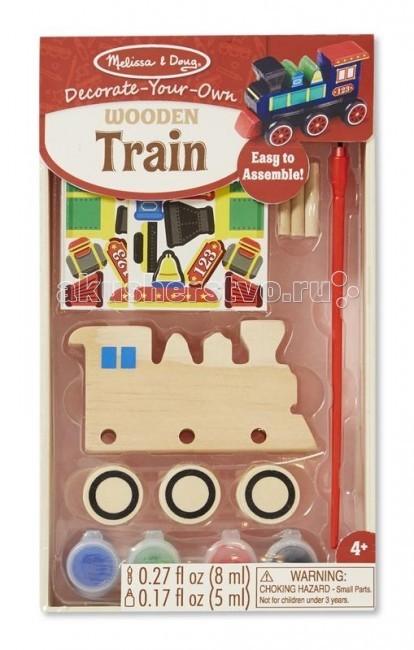 Купить Деревянные игрушки, Деревянная игрушка Melissa & Doug Классические игрушки Поезд