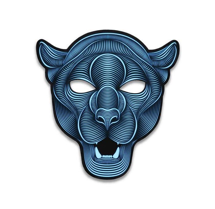 GeekMask Cветовая маска с датчиком звука Jaguar