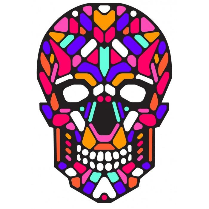 GeekMask Cветовая маска с датчиком звука Sugar Skull