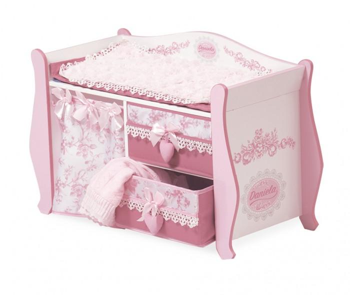 Кукольные домики и мебель DeCuevas Пеленальный столик серии Даниэла 63 см