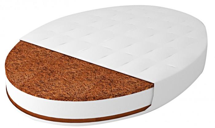 Матрас Forest для овальной кроватки Дрема Классик 125х75х8 см фото