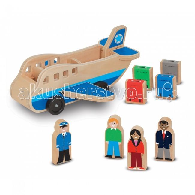Деревянные игрушки Melissa & Doug Аэроплан 9394