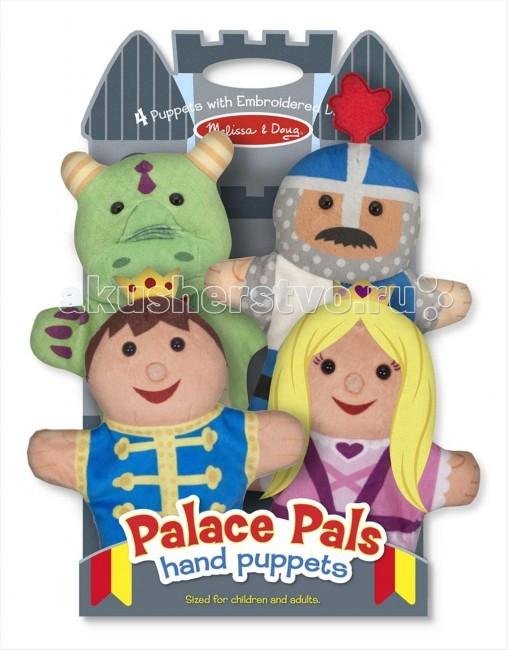 Мягкие игрушки Melissa & Doug Плюшевые куклы на руку- замок медведь будоражить boonic медведи плюшевые игрушки куклы несут два больших гостиной 40см