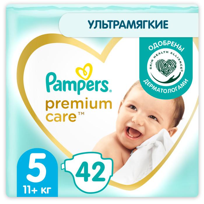 Купить Pampers Подгузники Premium Care 5р. (11-16 кг) 42 шт.