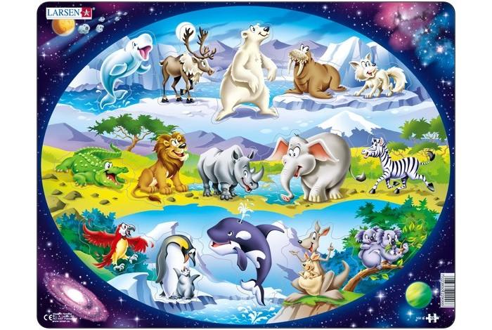 Пазлы Larsen Пазл Планета животных