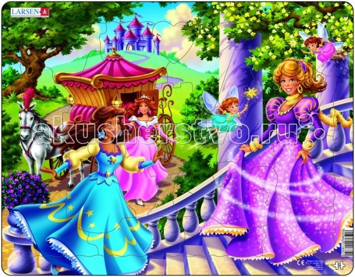 Картинка для Larsen Пазл Принцессы US10
