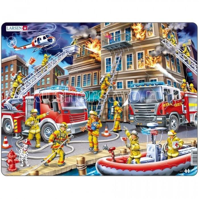 Картинка для Larsen Пазл Пожарные