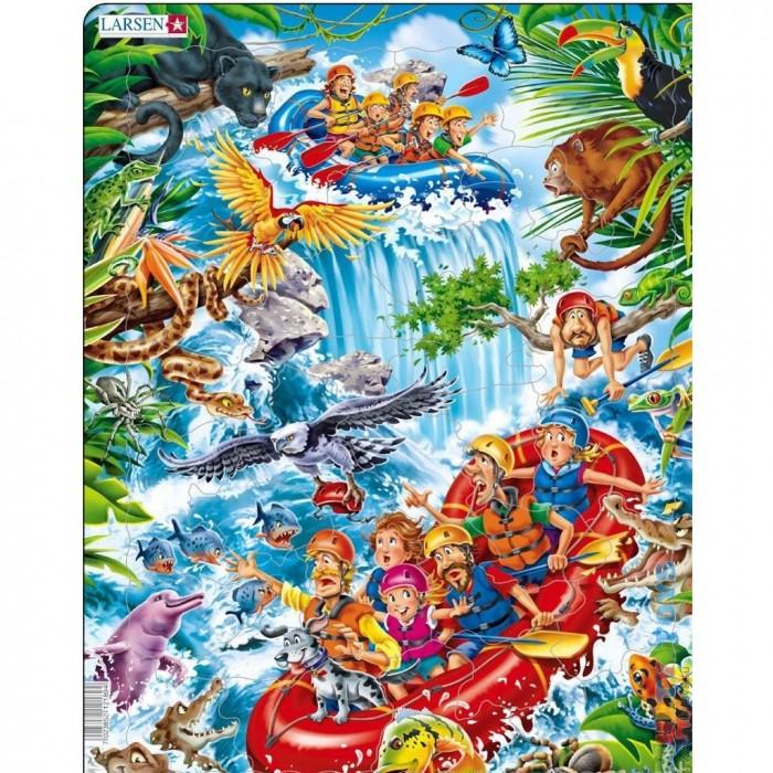 Картинка для Larsen Пазл В джунглях Амазонки