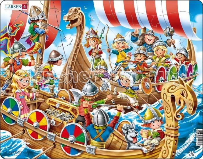 Картинка для Larsen Пазл Викинги