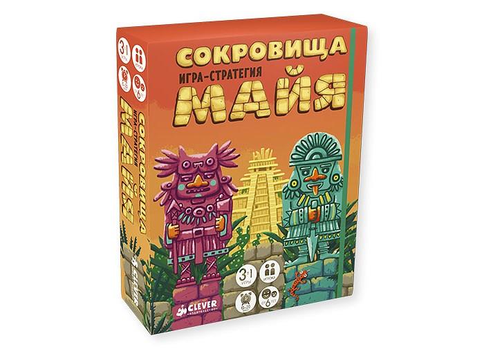 Купить Настольные игры, Clever Верещагин М. Игра Сокровища майя