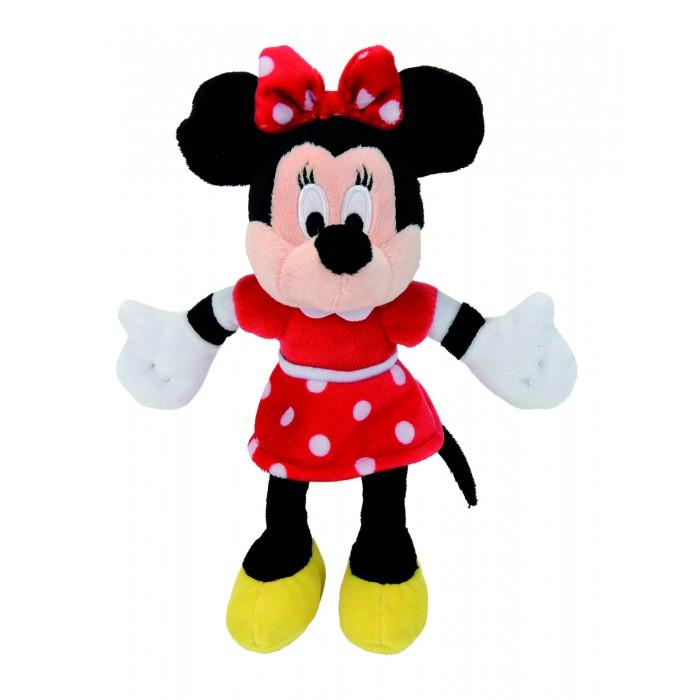 Мягкая игрушка Nicotoy Минни Маус в красном платье 25 см.