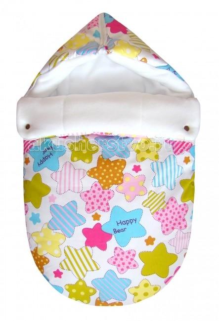 Детская одежда , Демисезонные конверты СуперМаМкет JustCute Звезды (весна) арт: 61715 -  Демисезонные конверты