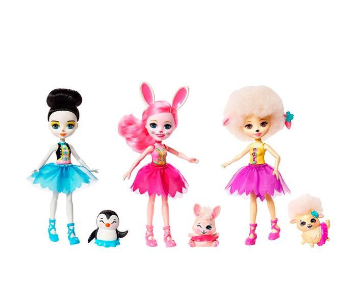 Enchantimals Набор из трех кукол Волшебные балерины фото