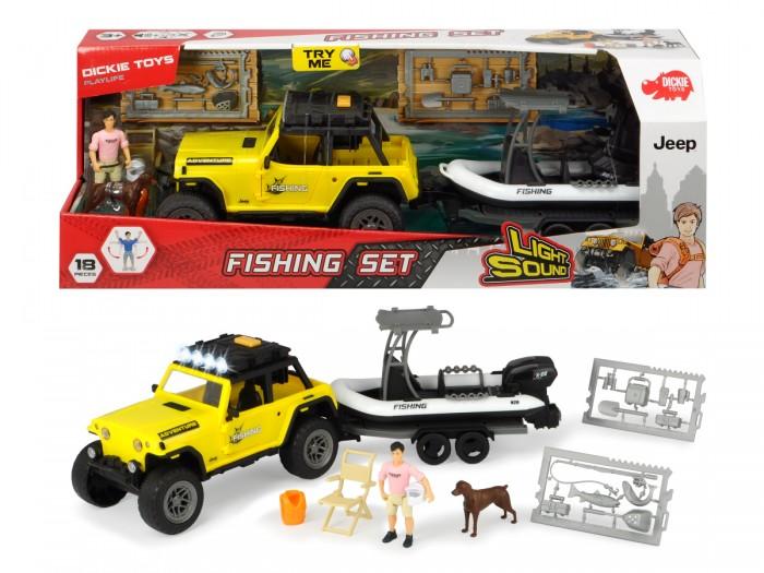Купить Игровые наборы, Dickie Набор рыбака серии PlayLife
