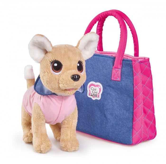 Мягкая игрушка Chi-Chi Love собачка Городская мода с сумочкой 20 см фото