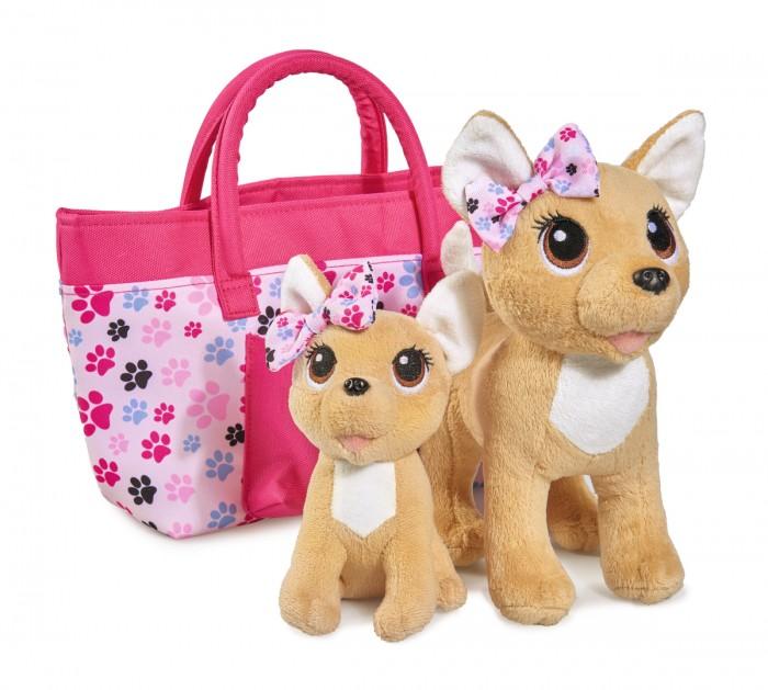Мягкая игрушка Chi-Chi Love собачки Счастливая семья 20см 14см фото