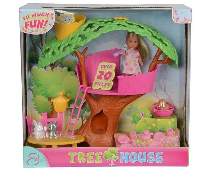 Simba Кукла Еви набор Домик на дереве