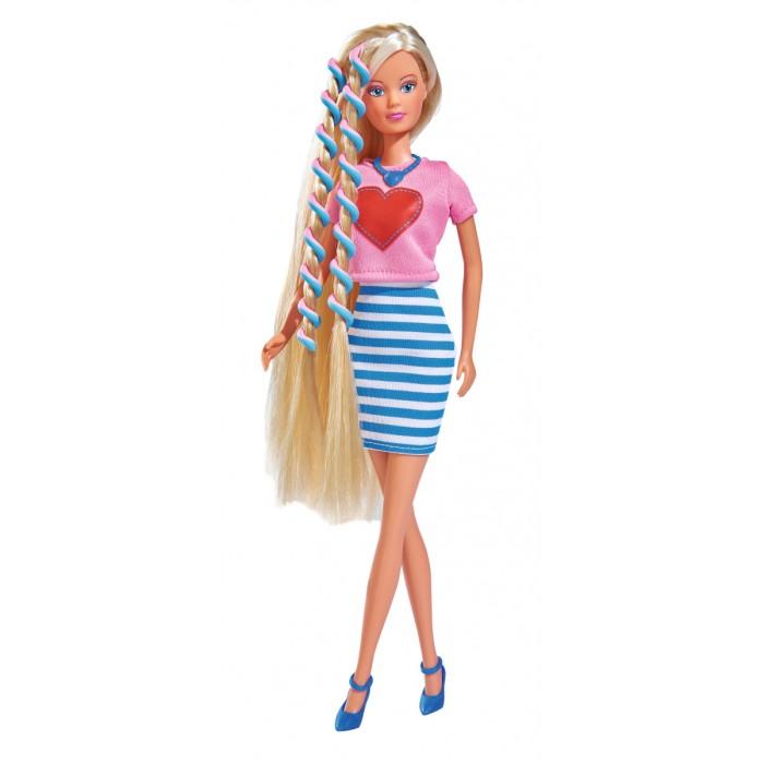 Купить Куклы и одежда для кукол, Simba Кукла Штеффи с аксессуарами для волос 29 см