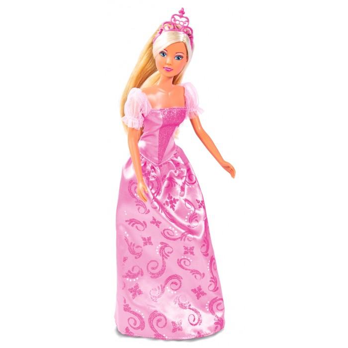 Фото - Куклы и одежда для кукол Simba Куклы Штеффи и Еви набор Принцессы набор кукол simba еви с малышом на прогулке розовая коляска 12 см 5736241 2