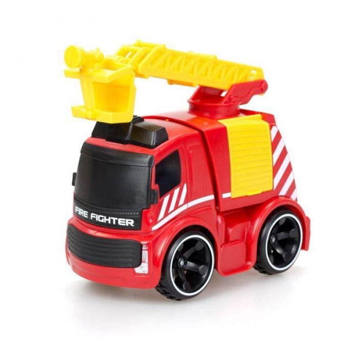 Silverlit Пожарная машина Tooko на ИКРадиоуправляемые игрушки<br>Silverlit Пожарная машина Tooko на ИК места каждого маленького спасателя. С помощью пульта-рации он ловко будет посылать автомобилю команды. Команда спасателей без промедления прибудет к месту пожара на высокой скорости и, выдвинув лесенку, поднимут ее на нужную высоту. Игрушка имеет реалистичные звуковые эффекты.  Особенности: Игрушка приведет в восторг юных спасателей, благодаря пожарной машине на игровой площадке наступит оживление, и очаг воспламенения будет без промедления ликвидирован. Машинка имеет яркий красно-желтый кузов со специализированными надписями и выдвижную лесенку. У авто обтекаемый корпус с тонированными стеклами и большие черные колеса с рельефным протектором. Ездит грузовик вперед и назад. Управлять игрушкой можно с помощью пульта с удобной для рук формой в виде рации с простым, интуитивно понятным функционалом. Радиус действия управления до 20 метров. Реалистичные звуковые эффекты (звук мотора, гудок) сделают игру интересной и правдоподобной. Управляя игрушкой, ребенок научится концентрировать внимание, глазомер, координацию движений, быстроту реакции и моторику рук. Игрушка выполнена из ударопрочного пластика и металла, имеет знак качества: СЕ. Движение вперед, назад, влево и вправо. Пульт оснащен звуковыми эффектами. Тип и количество батареек, необходимых для работы - 3xAA, 3xAAA (в комплект не входят).