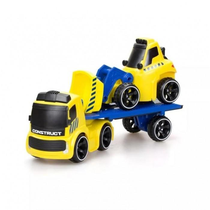 Купить Радиоуправляемые игрушки, Silverlit Трак Tooko на ИК и Бульдозер со свободным ходом