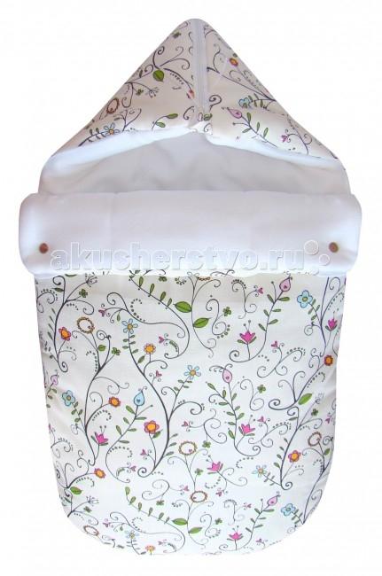 Детская одежда , Демисезонные конверты СуперМаМкет JustCute Цветы (весна) арт: 61749 -  Демисезонные конверты