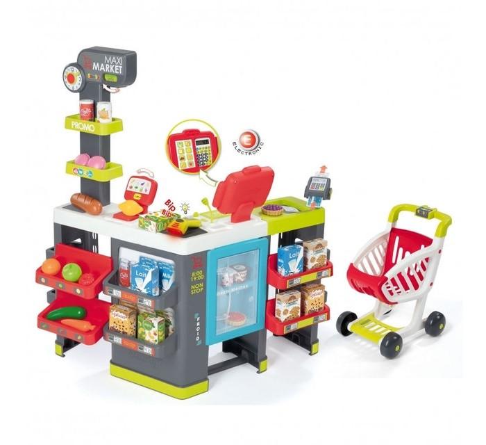 Smoby Супермаркет Maxi Market с тележкой