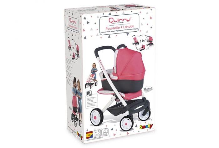 Купить Коляски для кукол, Коляска для куклы Smoby MC&Quinny Трансформер 3в1