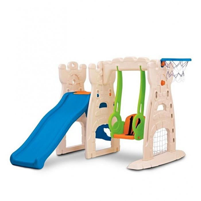 Купить Игровые комплексы, Grow'n up Игровой набор (горка 105 см, качели, баскетбольная корзина)