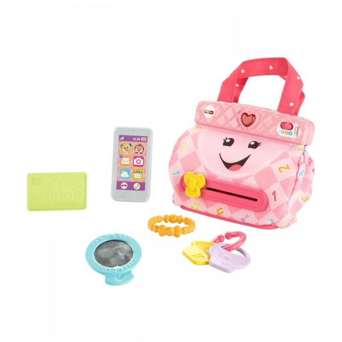Купить Развивающие игрушки, Развивающая игрушка Fisher Price Смейся и учись Кошелечек с аксессуарами