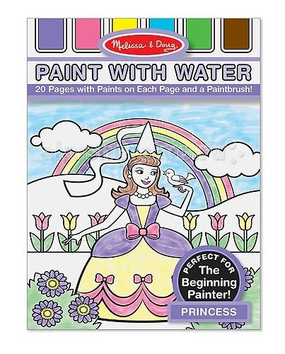 Купить Раскраски, Раскраска Melissa & Doug Набор Рисуем водой Принцессы
