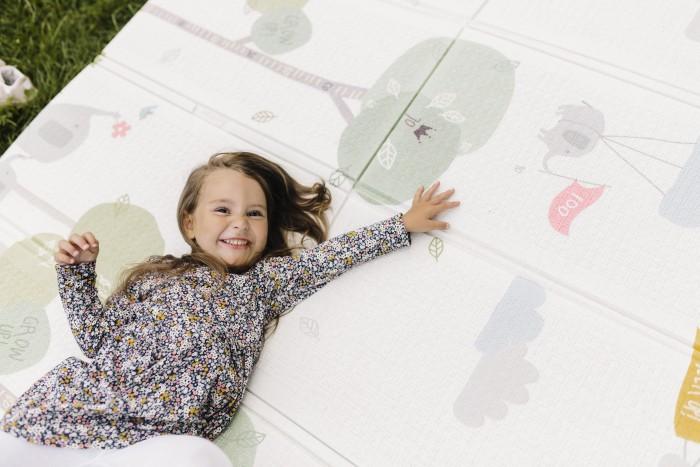 Купить Игровые коврики, Игровой коврик Parklon портативный Portable Весёлая прогулка 140x200 см