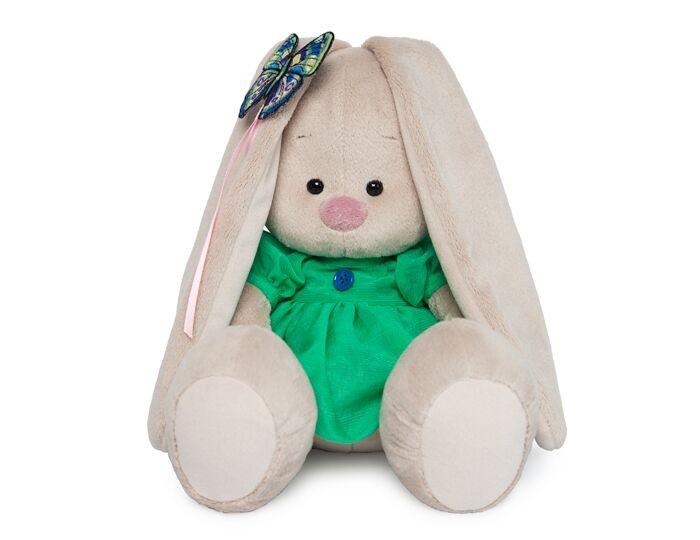 Мягкая игрушка Budi Basa Зайка Ми в платье с бабочкой 18 см фото