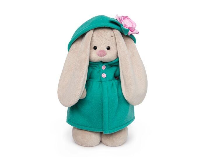 Купить Мягкие игрушки, Мягкая игрушка Budi Basa Зайка Ми в пальто с цветочком 25 см