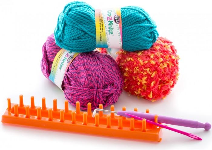 Купить Cra-z-knitz Набор для вязания Шарф в интернет магазине. Цены, фото, описания, характеристики, отзывы, обзоры
