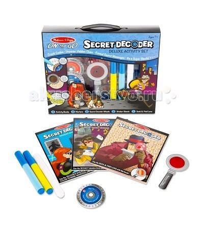 Наборы для творчества Melissa & Doug Прояви цвета набор шпиона
