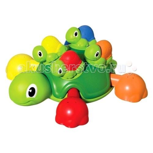 Купание малыша , Игрушки для ванны Tomy Веселые черепашки для ванной арт: 61863 -  Игрушки для ванны