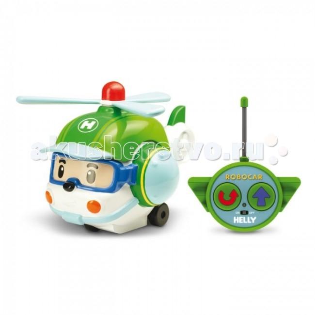 Robocar Poli Вертолет Хэли на радиоуправлении 15 смВертолет Хэли на радиоуправлении 15 смРадиоуправляемая игрушка со световыми эффектами Хэли привлечет внимание вашего ребенка и не позволит ему скучать.  Машинка Хэли из полюбившегося мультсериала «Робокар Полли и его друзья» .   Особенности: Игрушка может двигаться вперед, поворачивать направо и разворачиваться.  Во время движения у нее светятся фары.  Колеса вертолета дополнены резиновыми вставками, которые исключают скольжение игрушки на гладкой поверхности.  К вертолету прилагается пульт с инфракрасным дистанционным управлением, на котором имеются две крупные кнопки выбора направления движения игрушки и кнопка включения. В комплект входит инструкция по эксплуатации на русском языке. Для работы машинки необходимы 3 батареи напряжением 1,5V типа АА, для работы пульта управления 1 батарея напряжением 9V типа 6LR61 (не входят в комплект). Материал: пластик, резина. Размер вертолета (ДхШхВ): 19 см х 11 см х 10 см. Размер пульта управления: 11 см х 7 см х 3 см. Размер упаковки: 25,5 см х 14 см х 15 см. Изготовитель: Китай.<br>