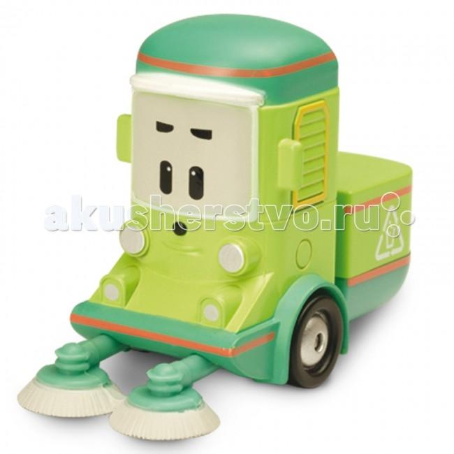 Машины Робокар Поли (Robocar Poli) Уборочная машина Клини 6 см robocar игрушка металл машина марк поли 6 см robocar