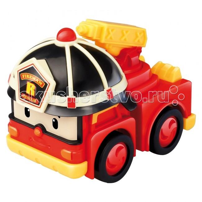 Машины Робокар Поли (Robocar Poli) Пожарная машина Рой 6 см robocar игрушка металл машина марк поли 6 см robocar